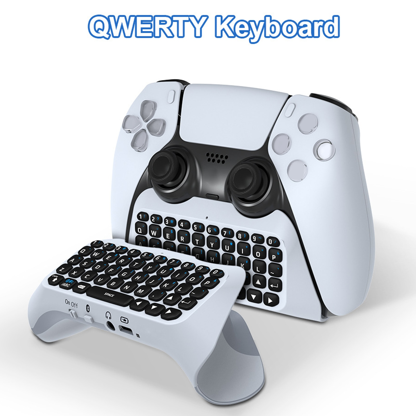 Wireless Bluetooth Keyboard Built-in Speaker Can Chat Voice Wireless Bluetooth External Keyboard For PS5 Controller smartphone infrared wireless speaker bluetooth laser projection virtual invisible keyboard high tech electronics
