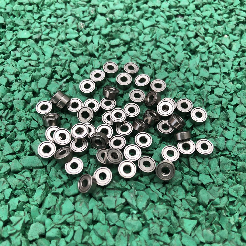 100 unids/lote 682ZZ rodamientos de bolas de ranura profunda en miniatura 682Z 682-2Z 2*5*2mm cojinete de modelo 2x5x2