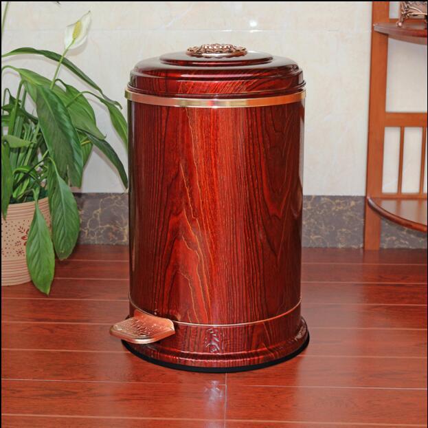 Caixotes de Lixo Latas com pé Bin para Homeholtel Luxo Europa Aço Inoxidável Metal Pedal Lixo Ljt042 6 – 10
