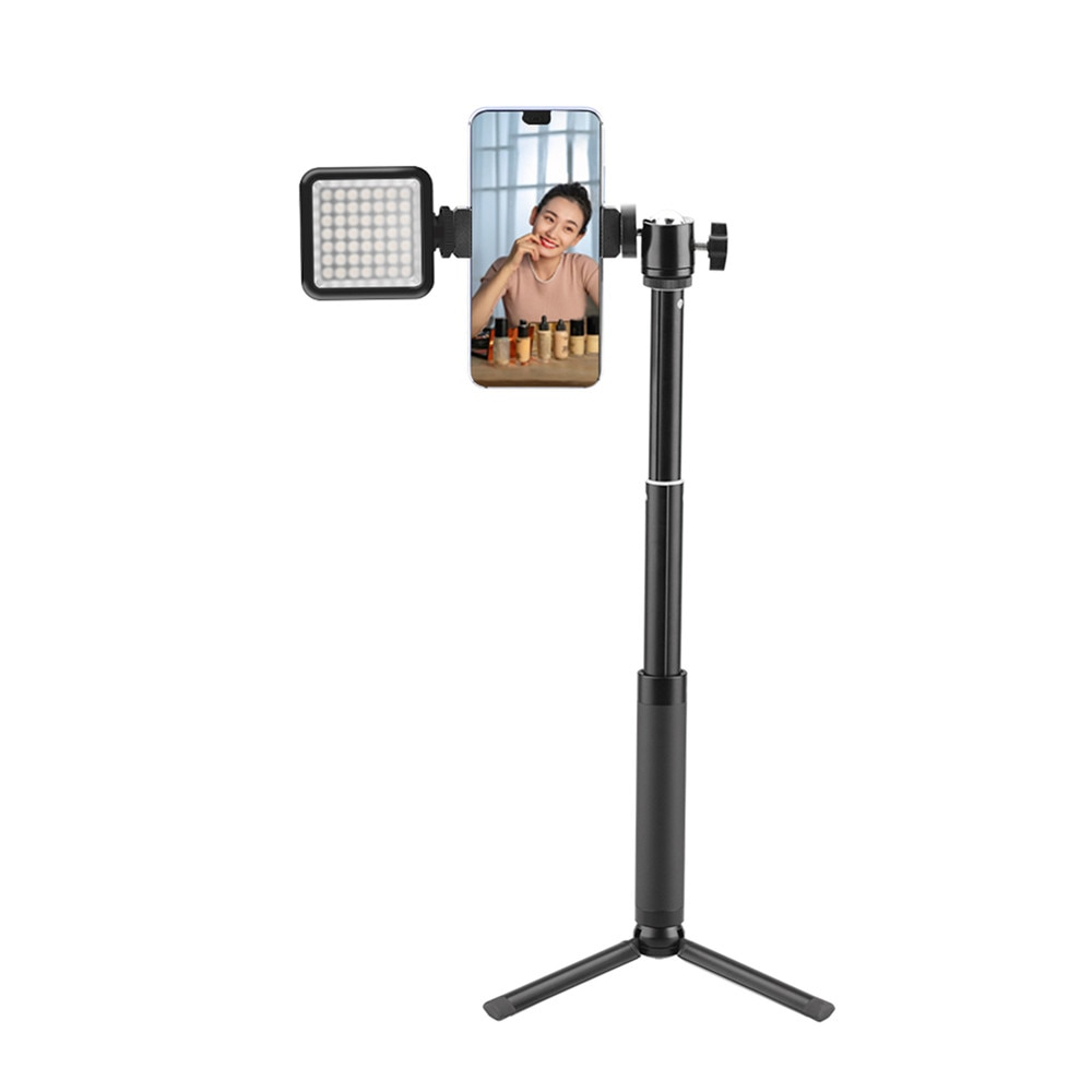 Mobile Phone Tripod Handheld Selfie Stick Extension Rod Multifunctional Live Desktop Outdoor Photography Selfie Artifact Bracket