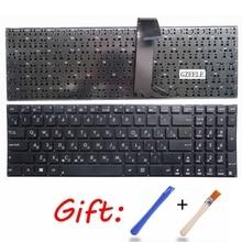 Russische Laptop tastatur FÜR ASUS S56 S56C S56CA S56CB S56CM 0KN0-N31RU13 K56 K56C K56CM R505C K56CB K56CA Ohne rahmen ru