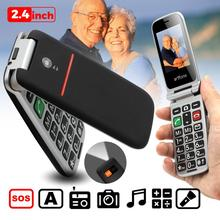 Artfone flip Big Button Mobile Phone for Elderly, Unlocked Senior Mobile Phone With SOS Emergency Bu