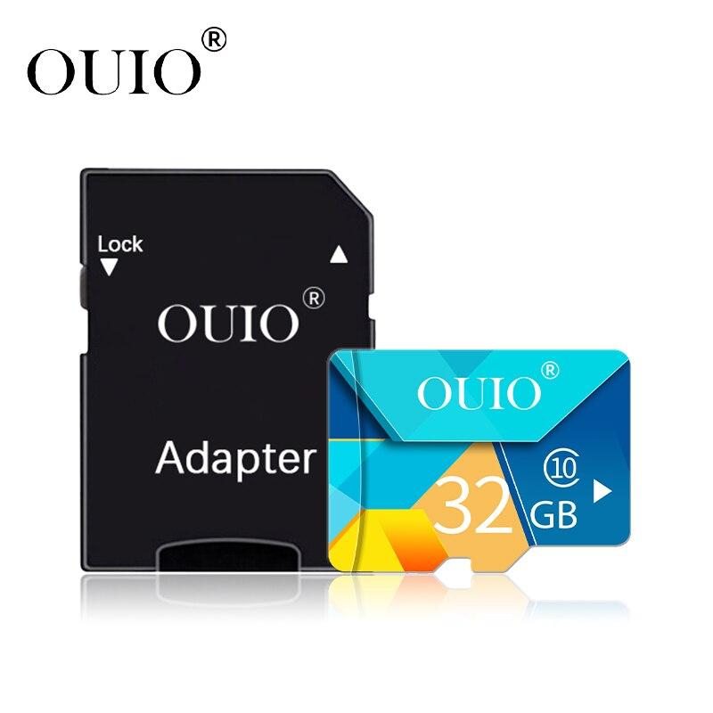 Карта памяти OUIO 32 64 128 Гб Micro SD 128 ГБ 32 ГБ 64 Гб Micro SD карта SD/TF флэш-карта microSD для телефона