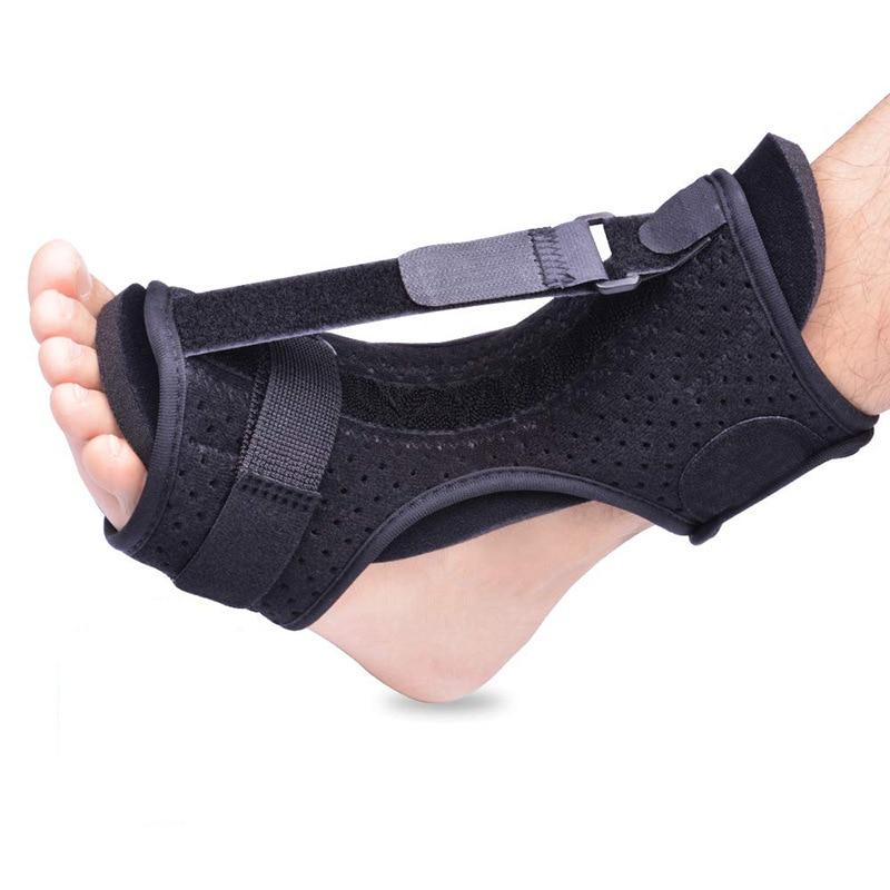 Adjustable Plantar Fasciitis Night Splint Foot Drop Orthosis Stabilizer Brace Support Night Splints