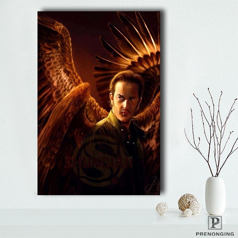 Supernatural (1) pósteres impresos, lienzo, pared, imágenes artísticas para decoración para sala de estar #19-04-18-61