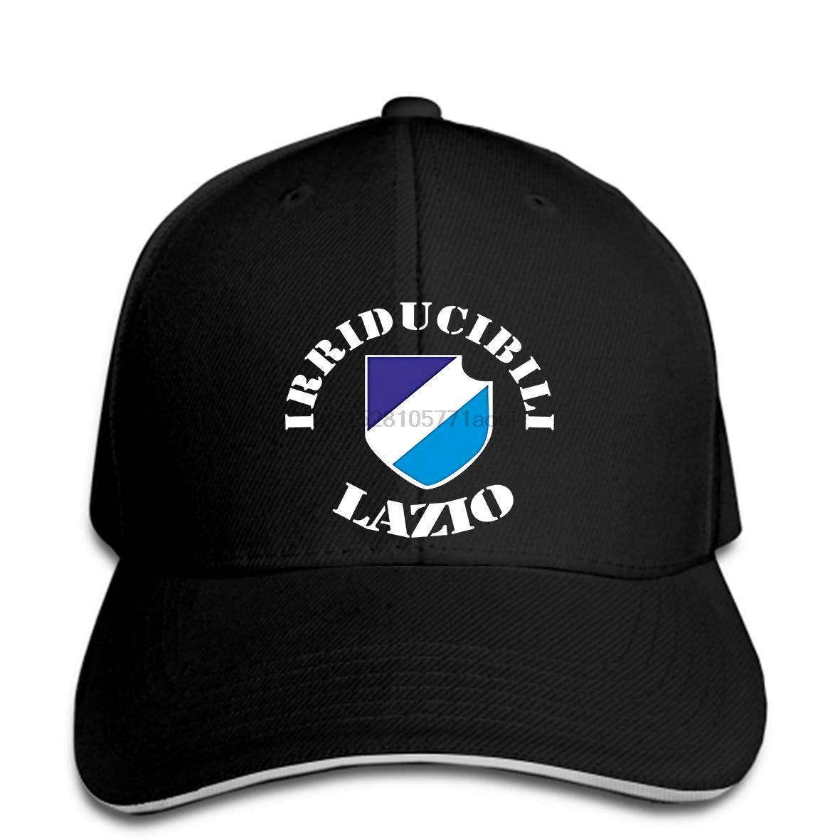 Gorra de béisbol Herren, gorras de béisbol Lazio (frontal y rcken) (Fuball Rom)