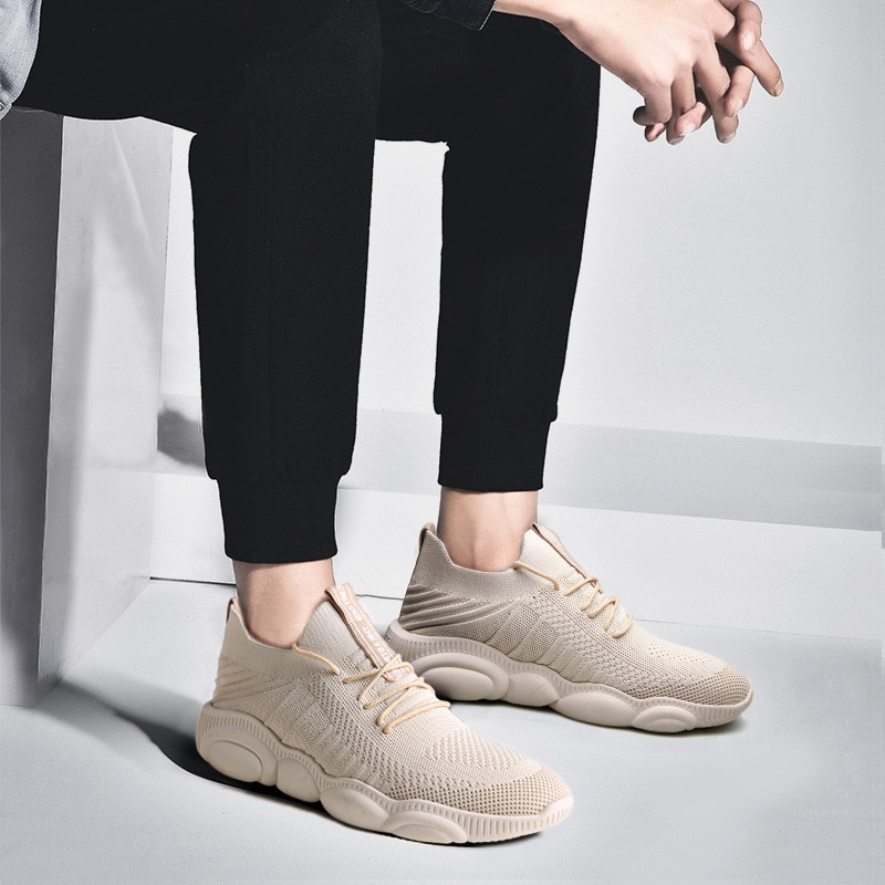 SOLI2 2019 hombres Casual moda Zapatillas transpirable malla primavera hombres zapatillas S2565-2576