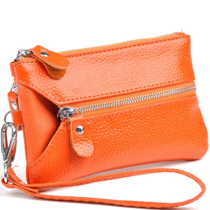 New leather lady's purse key bag hot style fashion lady's multi-functional handbag Free shipping