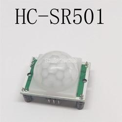 100pcs X HC-SR501 HCSR501 módulo sensor infravermelho do corpo Humano. Piroelétrico. O sensor infravermelho.