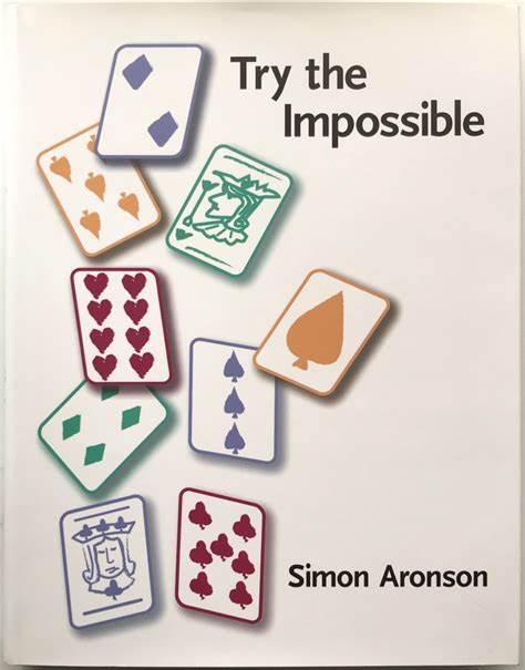 Jon Aronson – tours de magie, essayez l'impossible