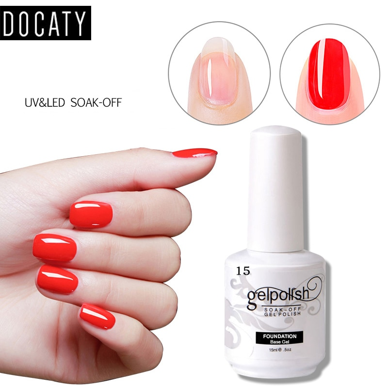 Docaty 15ml Nail Prep Dehydrator Primer Long Time Shinning Cleaning Top It Off Nails Gel Soak Off Gel Nail Polish Top Base Coat