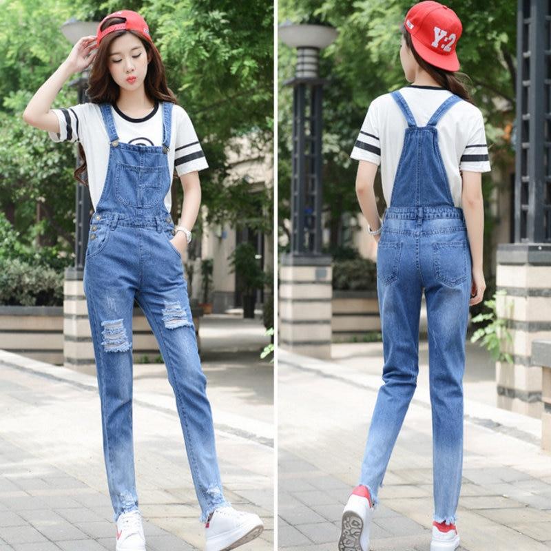 2020 Nieuwe Stijl Mode Vrouw Solid Jean 1140