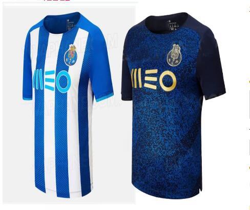 Porto FC camisa de time home away 2021/22 Men football shirt maillot...