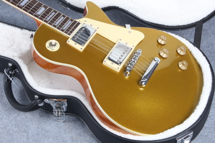 Golden top electric guitar is of high quality. free delivery