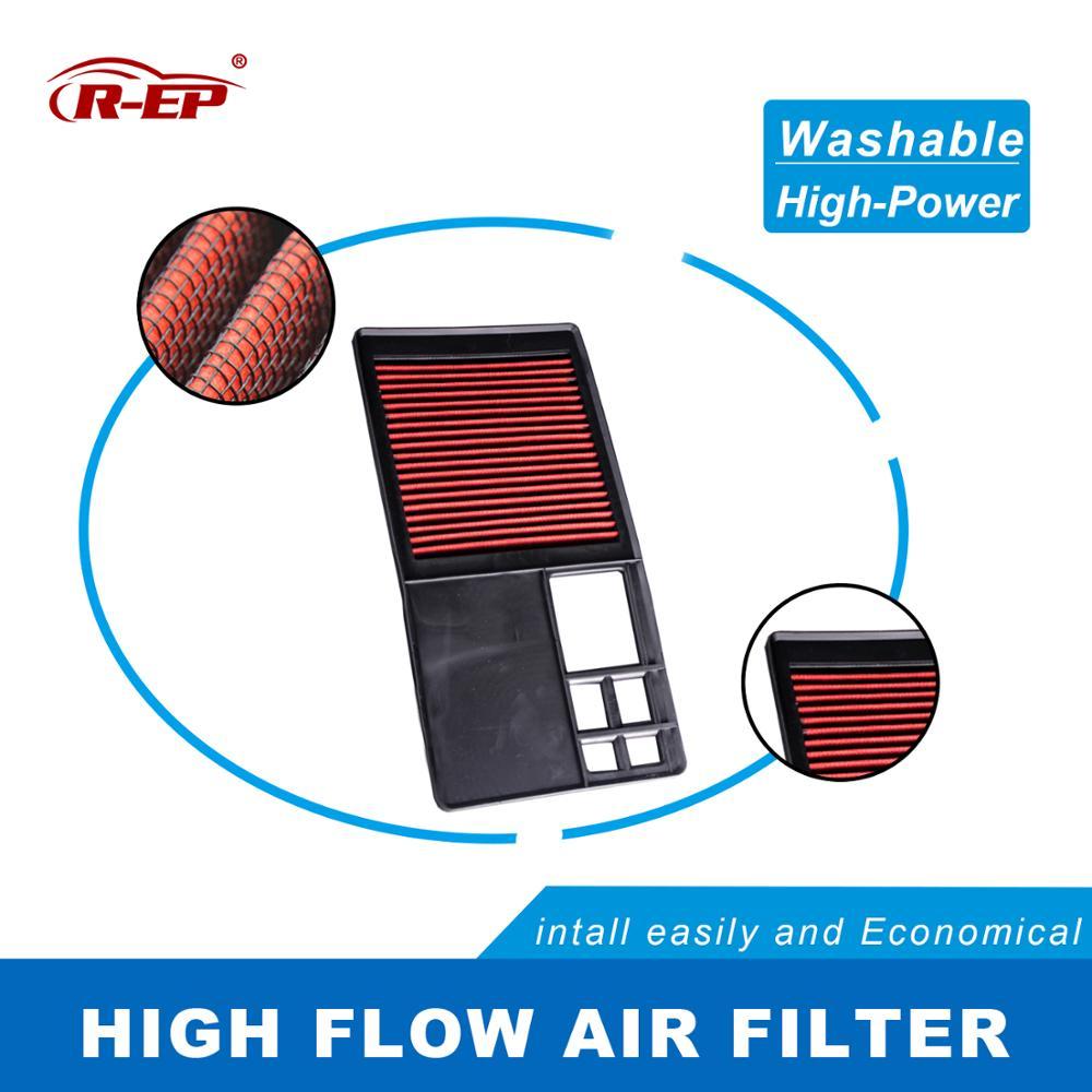 R-EP de aire de alto rendimiento para Volkswagen Golf Plus V VI Lavida Polo Bora Caddy Sagitar Vento lavable reutilizable