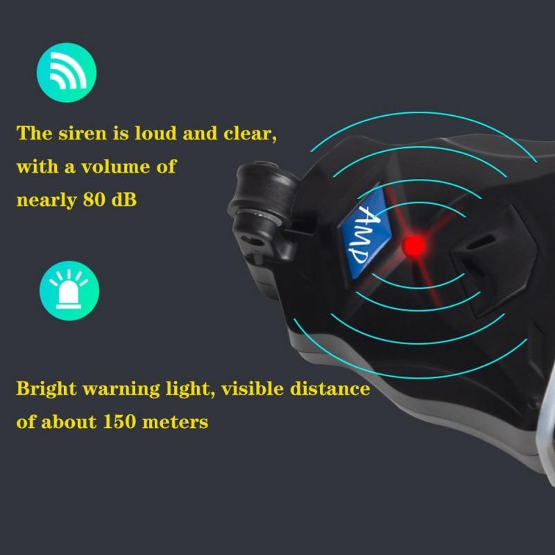Alat Sinyal Joran Pancing Alarm Gigitan Ikan Sensitif Tinggi Malam Pemberi Umpan dengan Lampu Terang Aksesoris Pancing