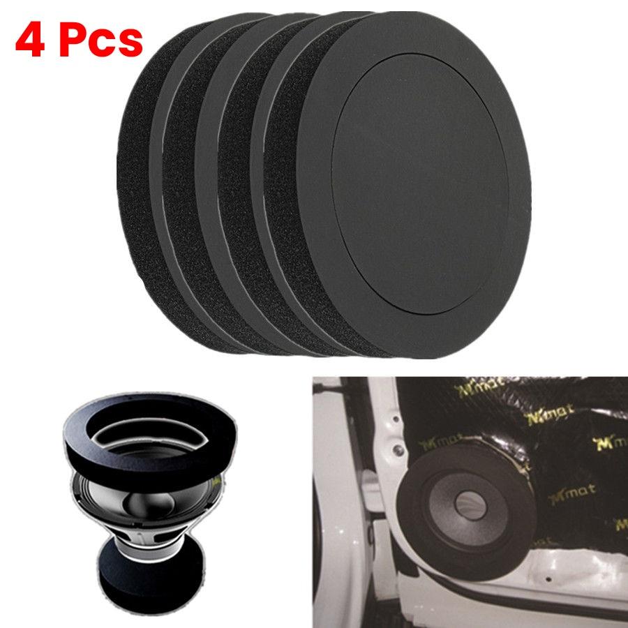 AliExpress - 4x 6.5″ Car Door Speaker Bass Ring Foam Woofer Pad Noise Sound Wave Accessories CSV