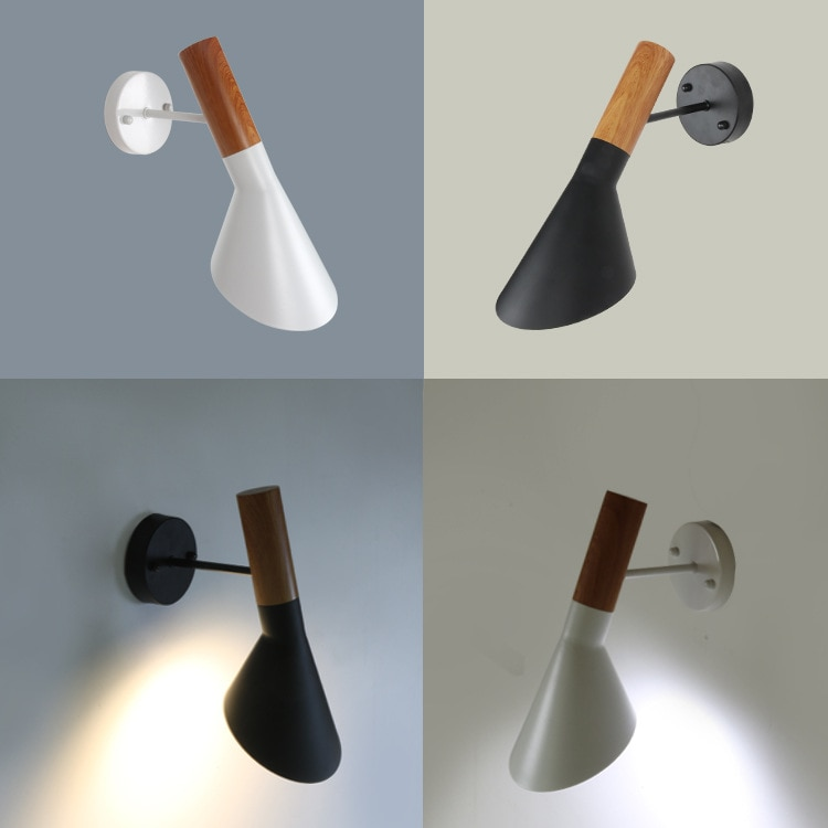 Like Wall Lights Wall Lamp Modern Sconce Light Arne Jacobsen Wood AJ Iron Vintage Creative Free Shipping Replica Modern Bed Room