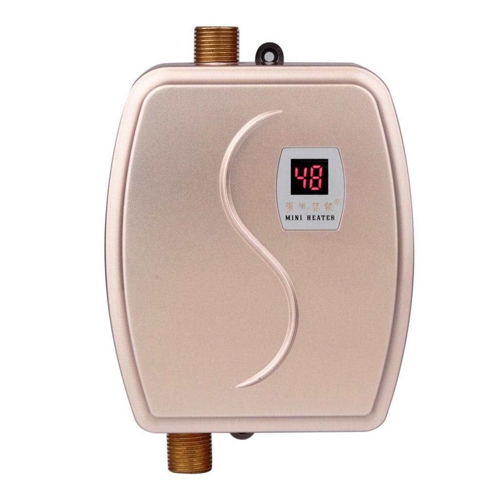 Aquecedor de Água Chuveiro para Casa Água do Chuveiro Tankless Instantâneo Elétrico Quente Banheiro Termostato Fluxo Aquecedor Aquecimento