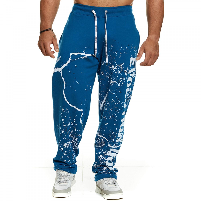 Мужские спортивные брюки, свободные прямые штаны, шаровары в стиле хип-хоп, мешковатые тренировочные джоггеры, модные мужские брюки