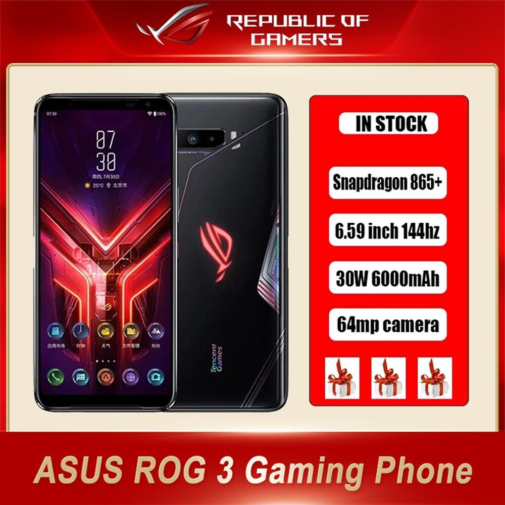 Смартфон ASUS ROG Phone 3, 256 ГБ, 12 Гб, 6000 мАч, 144 Гц, 64 мп