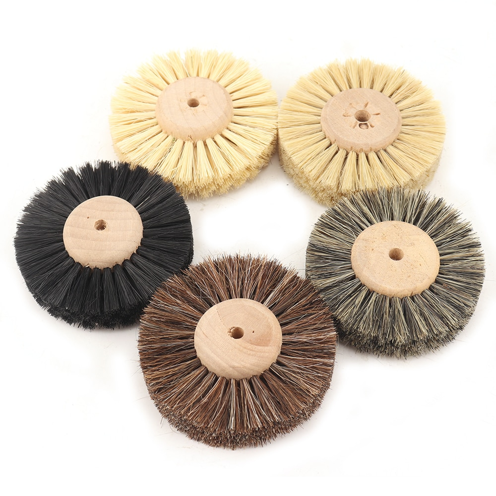 sisal cloth 6 inch buffing wheel polishing pad for stainless steel metal polishing abrasive tools mayitr buffer rotary tool Abrasive Sisal Filament or Horse Hair Brush Polishing Grinding Buffing Wheel Woodworking For Wood Furniture Rotary Drill Tools