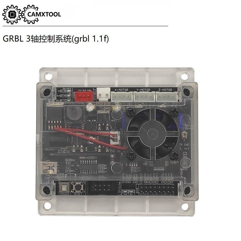 Placa de controle grbl diy máquina de gravura a laser micro 3 eixos stepper motor drive placa de controle acessórios da máquina de gravura