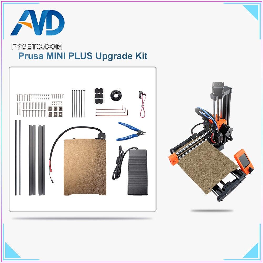 ترقية لاستنساخ Prusa MINI PLUS لوح فولاذي ساخن عدة الملف الشخصي لاستنساخ ترقية Prusa أجزاء طابعة صغيرة ثلاثية الأبعاد