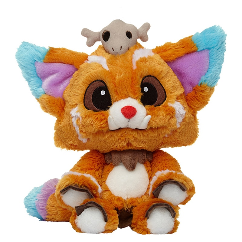 32CM Game League LOL Gnar Plush Toys Gnar Soft Stuffed Dolls for Children Kids Christmas Gifts