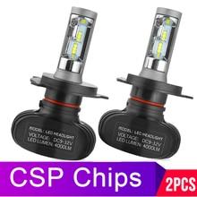 2Pcs H7 LED H4 Auto Car Faro 9005 9006 H3 H13 H8 880 H27 9004 9007 H11 LED H1 s1 50W 8000LM 6500K Automobile Lampadina CSP Lampada