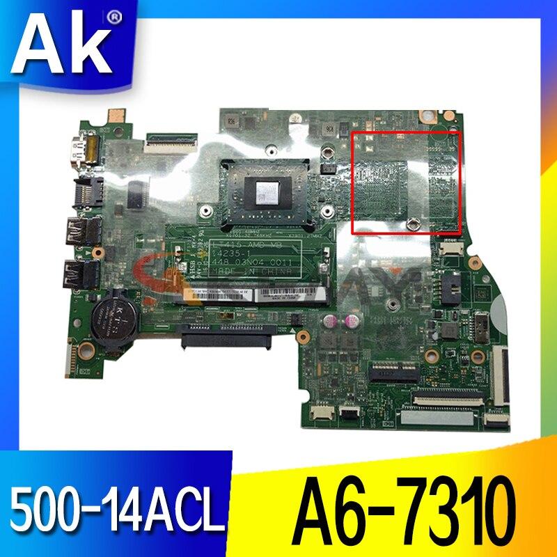 14235-1 لينوفو فليكس 3-1435 500-14ACL اللوحة الأم 448.03n04.0011 5B20J46146 AM7310 A6-7310 وحدة المعالجة المركزية اللوحة الرئيسية 100% اختبار ok