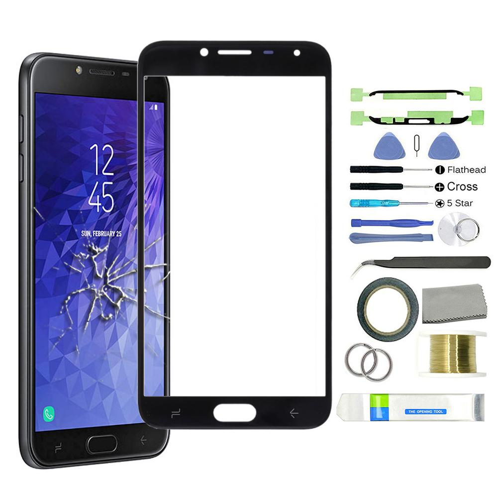 Panel frontal para Samsung Galaxy J4 2018/J530, cristal digitalizador con Sensor de pantalla táctil