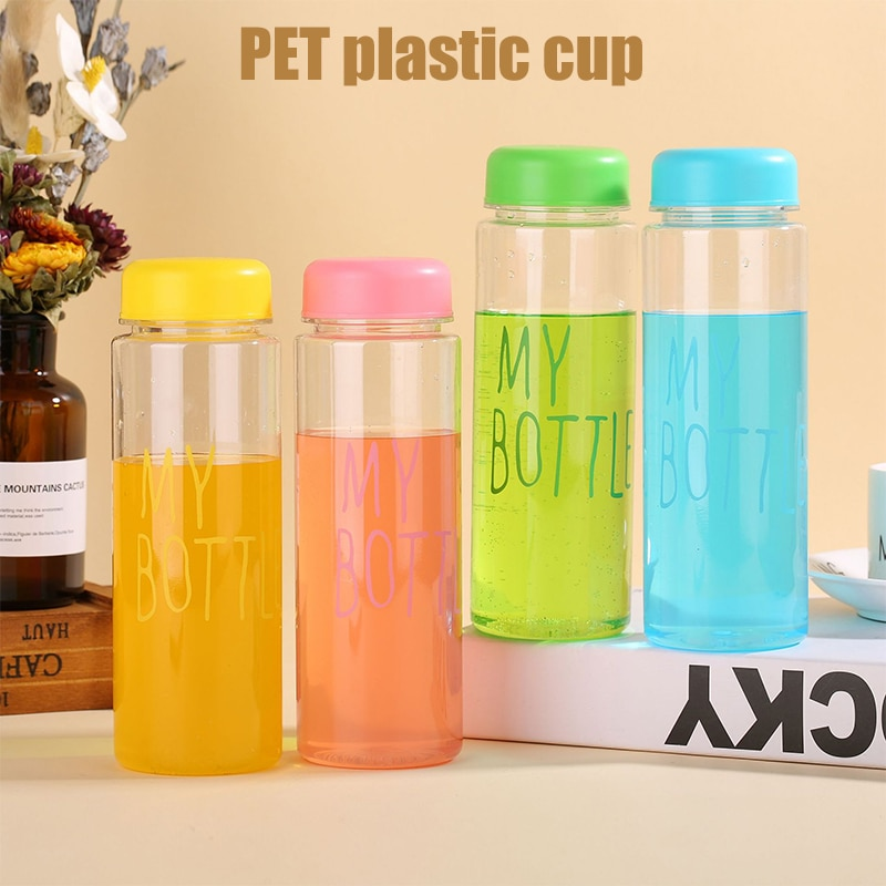 Large Capacity Sports Fruit Lemon Juice Drinking Bottle Infuser Clear Portable Travel Camping Plasti