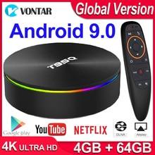 T95Q 4K Smart TV BOX Android TV Box Android 9.0 Android Box 4GB RAM 32GB 64GB ROM Amlogic S905X2 2.4 & 5G WIFI BT4.1 USB 3.0 H.265