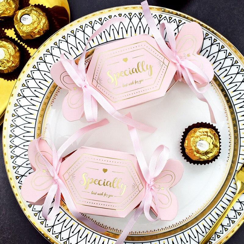 10 шт в упаковке новая креативный подарок сумка для вечерние Baby Shower Бумага шоколад