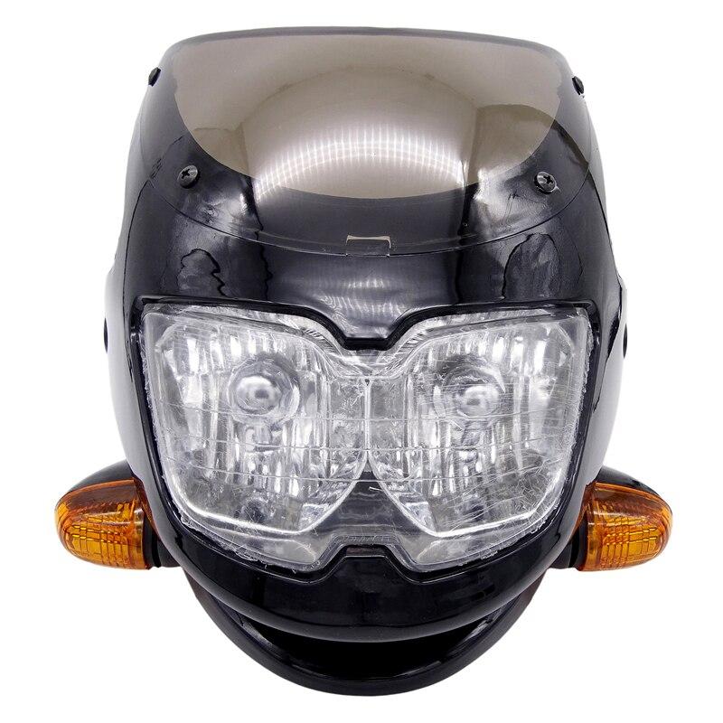 Универсальная автомобильная фара для Ducati Streetfighter, Kawasaki, Suzuki, Yamaha, Honda