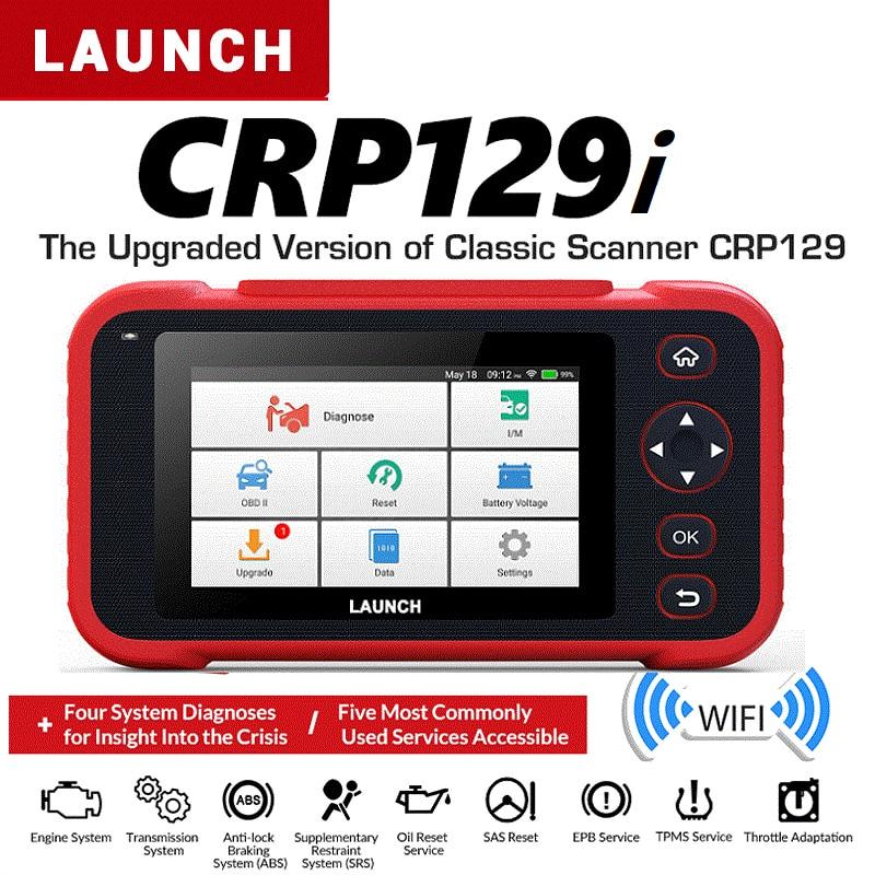 LAUNCH CRP129i OBD2 Auto Scanner Automotivo OBD2 Engine Code Reader SAS Airbag SRS Oil Reset Creader obd LAUNCH OBD Free Update