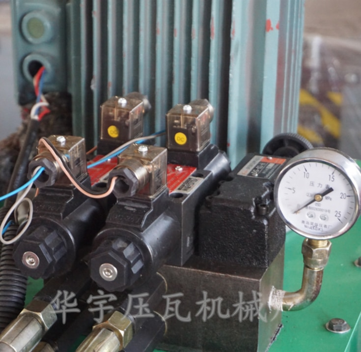 Roll Forming Machine Hydraulic Parts DC24V electric electromagnetic flow control solenoid valve  - buy with discount