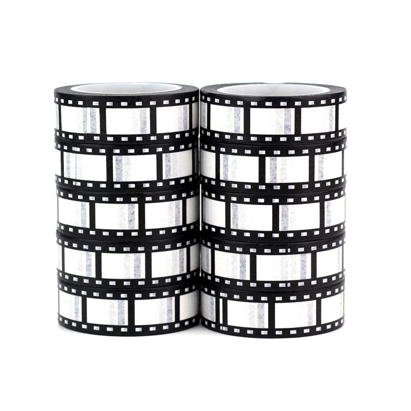 Hohe qualität 10 teile/los Netter film reel washi Washi Tapes DIY Decor Sammelalbum Planer Adhesive Masking Tapes Nette Schreibwaren