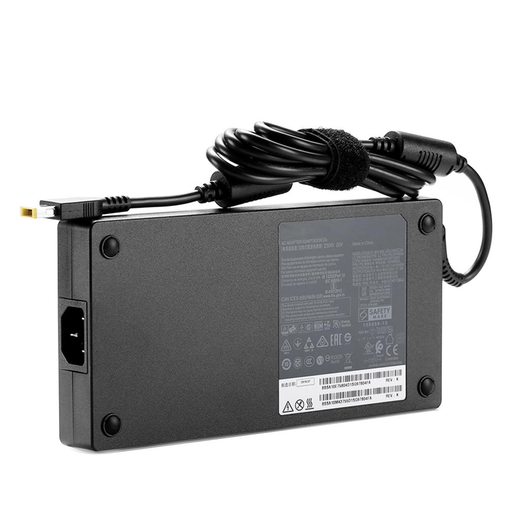 ADL230NDC3A ADL230NLC3A التيار المتناوب تيار مستمر محول 20 فولت 11.5A 230 واط شاحن الكمبيوتر المحمول لينوفو P51S فيلق Y7000 2020/19 دفتر امدادات الطاقة