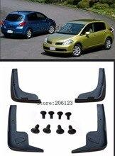 Garde-boue de hayon Latio pour Nissan Tiida C11 2007-2011   Garde-boue à rabat de boue 2012 2008 2009