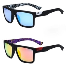 Classic Square Sunglasses Men Women Oversized Sports Travel Fishing Outdoor Colorful Sun Glasses Uv4