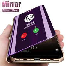 Умный зеркальный чехол для Samsung Galaxy S10 Note 10 Lite S20 Ultra S9 S8 Plus A51 A71 A10 A20 A30 A40 A50 A70 A20e M31 M30s