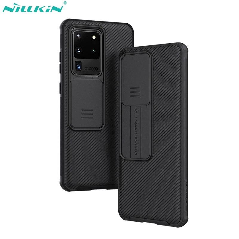 Funda Nillkin para Samsung Galaxy S20, funda Ultra protectora con cámara deslizante, funda protectora para Samsung S20, funda Ultra 5G