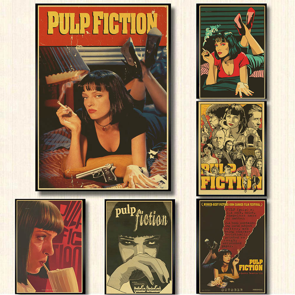 pulp-fiction-posters-vintage-paper-retro-anime-poster-poster-vintage-home-wall-sticker-decor-quentin-tarantino