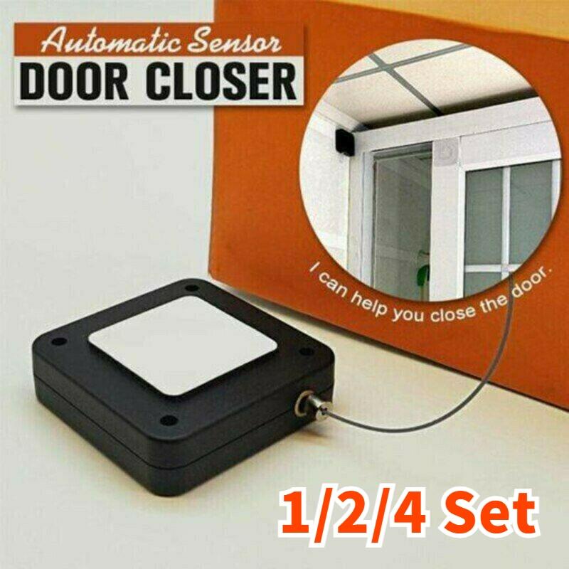 1/2/4/Set automático de puerta más cerca para todas las puertas 800g tensión...