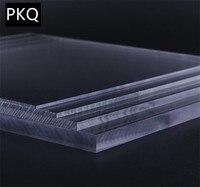 1pcs 30*40cm Plexiglass Transparent Clear plastic Sheet acrylic board organic glass polymethyl methacrylate 2/3/4/5mm thickness