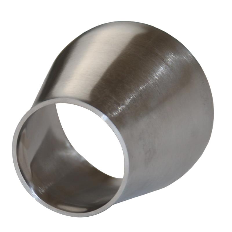 WZJG Размер 19 мм-57 мм 304 Нержавеющая сталь санитарная Сварка концентический редукционный трубный фитинг для домашней пивоварни трубы из нержа...