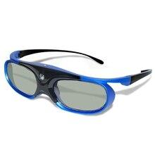 2021 3D Glasses Active Shutter Rechargeable Eyewear for DLP-Link Optama Acer BenQ ViewSonic Sharp Pr