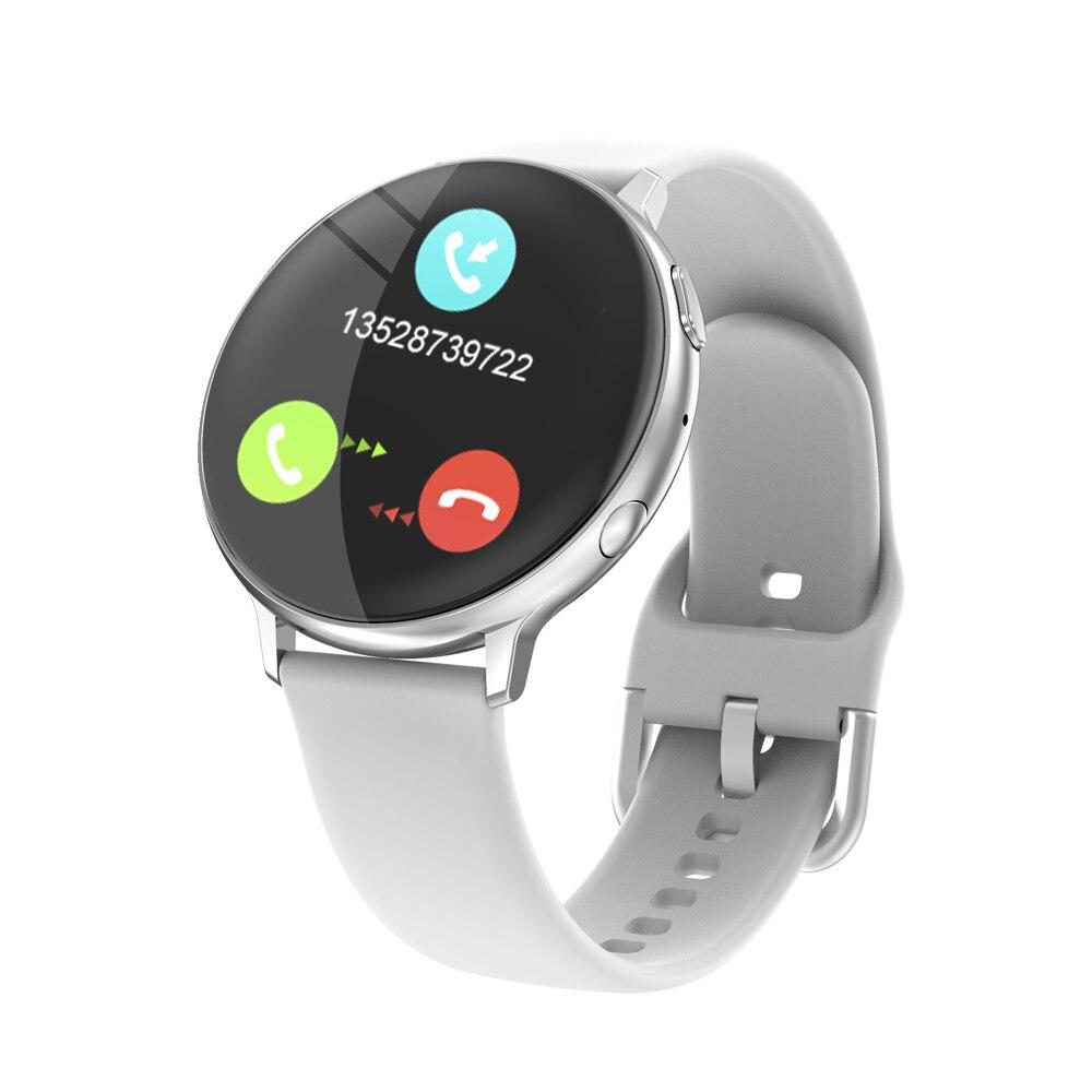 1.3 Polegada relógio inteligente masculino toque completo bluetooth chamada música controle de voz pressão arterial relógio inteligente relógios para xiaomi